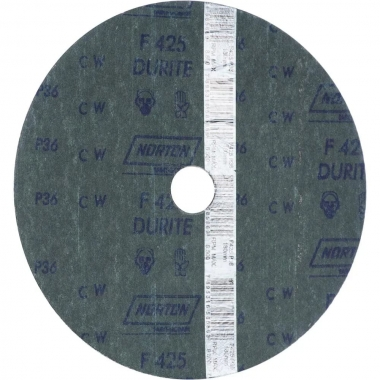"""Disco de lixa Durite 7"""" F425 Norton"""