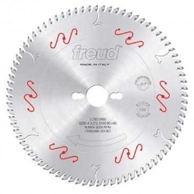 Disco de Serra de Videa 250 X 80D Trapezoidal Freud LU3D0400