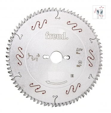Disco de Serra de Videa 300 x 96D Trapezoidal LU3F0300 Freud