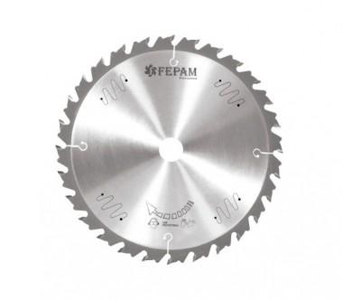 Disco de Serra de Videa 300 x 28D Avanço Controlado Fepam