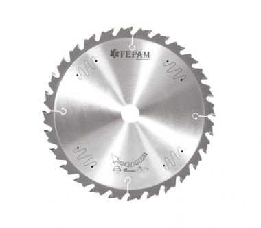 Disco de Serra de Vídea 400 x 32Z 4,5/3,0 D30 Avanço Controlado FEPAM