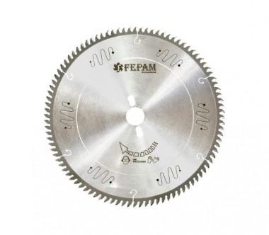Disco de Serra de Videa MDF 250 x 80 (2,8/2,0 Furo 30mm 35º) Corte Fino Fepam