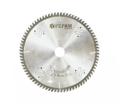 Disco de Serra de Videa 250 X 80D Furo 30mm para Alumínio Fepam