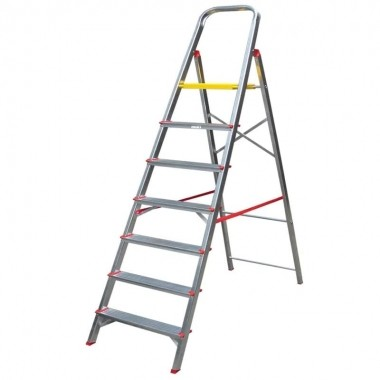 Escada Alumínio 7 Degraus Alulev RN207