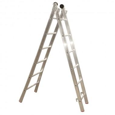 Escada Alumínio Extensível 7 Degraus Alulev ED107