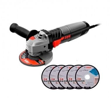 Esmerilhadeira Skil LCM 9004 127V 830W Com 5 Discos