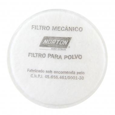 Filtro Mecânico para Respirador - Pacote com 2 - 5539544814 - NORTON