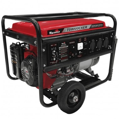 Gerador de Energia Gasolina TG8000CXER 110/220V