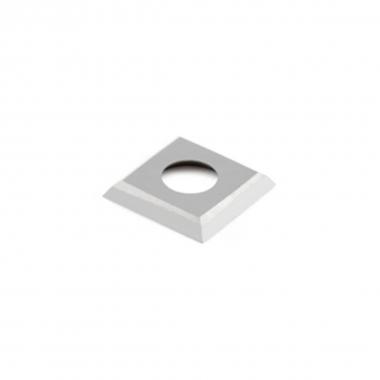 Inserto Pastilha De Videa Metal Duro 15 X 15 X 2,5 RR01MCA310 Kit Com 10 Peças