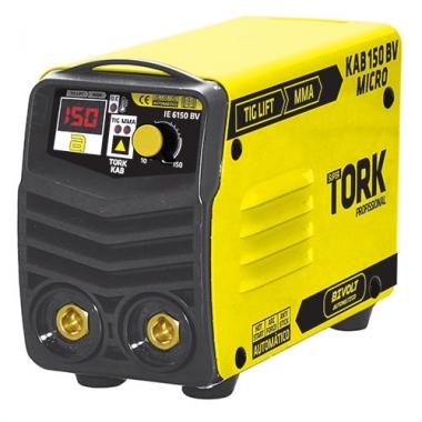Máquina de Solda Inversora 150A Micro KAB150 MMA IE-6150 Bivolt Tork