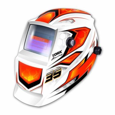 Máscara de Solda Automática Branca MTR-9035 TORK