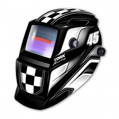 Máscara de Solda Preta Racing 45 MTR-9045 TORK