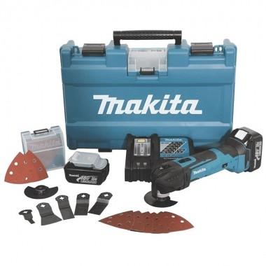 Multicortadora Makita 18V DTM51RFEX2 com Maleta e Kit de Acessórios