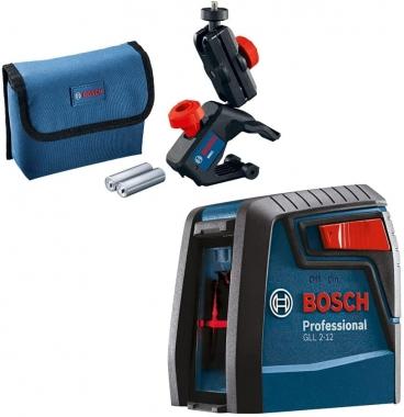 Nível a Laser 2 Linhas Vermelho Bosch GLL 2-12