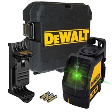 Nível a Laser Verde com Suporte e Maleta DW088CG-LA DEWALT