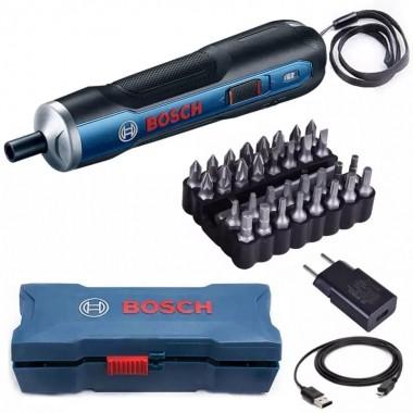 Parafusadeira Bosch GO 3,6V 1/4 Versao KIT 110V/220V