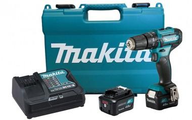 Parafusadeira e Furadeira de Impacto Makita 12V 4.0Ah 3/8 HP333DSME