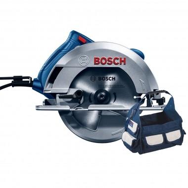 Serra Circular Bosch 7.1/4 GKS 150 1500W 220V Com Bolsa