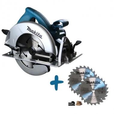 Serra Circular Makita 7-1/4 1.800W 5007N-P 110V Com 2 Discos Brinde