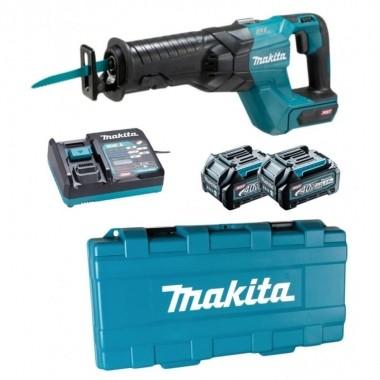 Serra Sabre Makita à Bateria 40V com 2 Baterias e Maleta JR001GD201