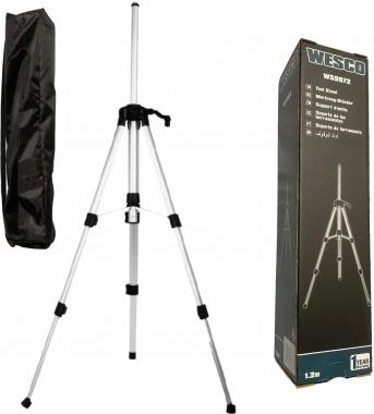 """Tripé Para Nível Laser com Altura Regulável Rosca 5/8"""" WS9972 Wesco"""