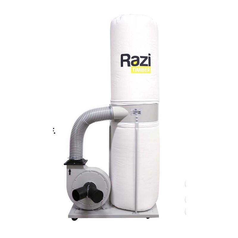 Coletor de Pó com 2 Bocas 2CV 220v Monofásico Razi RZ-CPT2M