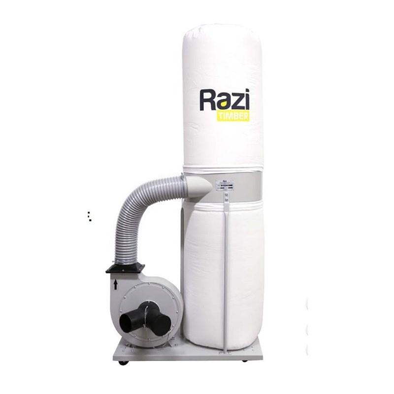 Coletor de Pó com 2 Bocas 2CV 220v Trifásico Razi RZ-CPT2T