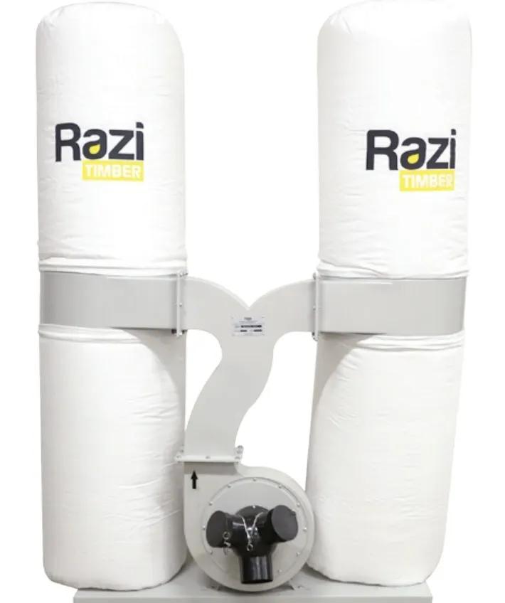 Coletor de Pó com 2 Resistências 3 Bocas 3CV Trifásico 220/380T RZ-CPT3T2 Razi