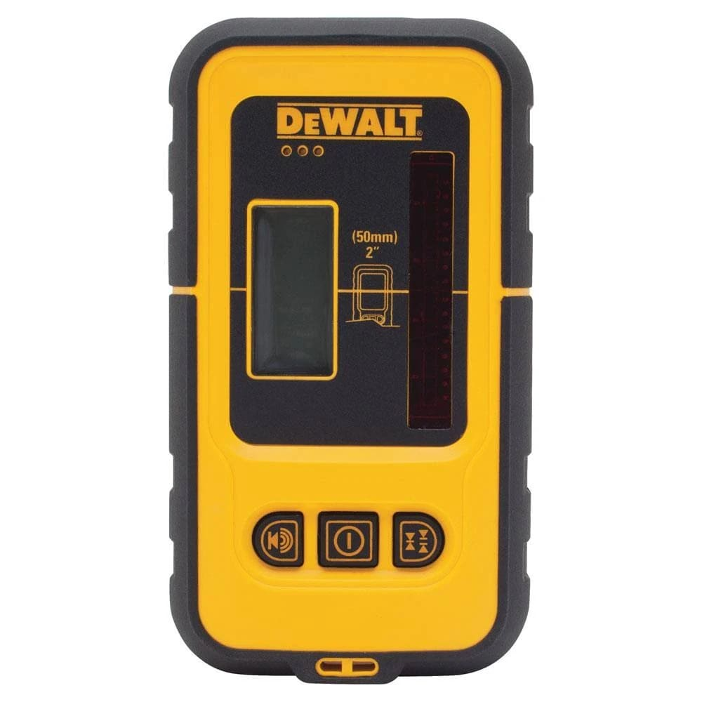 Detector de Laser para Nível DEWALT com Alcance de 50 Metros DW0892