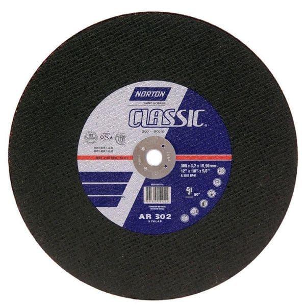 Disco de Corte CLASSIC NORTON AR302 12 x 3,2 x 3/4