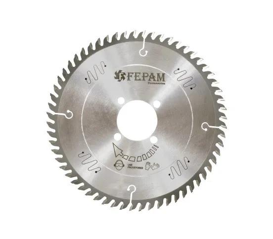 Disco de Serra de Videa 250mm x 60D Furo 55mm Trapezoidal Fepam