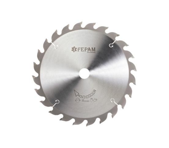 Disco de Serra de Vídea 250 x 24Z 3,2/2,2 D30 Corte Longitudinal FEPAM