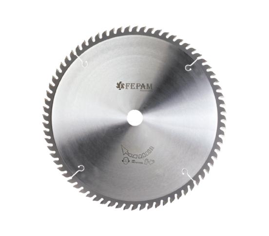 Disco de Serra de Vídea para Corte Transversal 250 x 60Z 3,2/2,2 D30 FEPAM