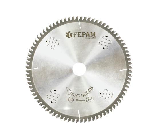 Disco de Serra de Videa para Alumínio 250 X 80D Furo 30mm Fepam