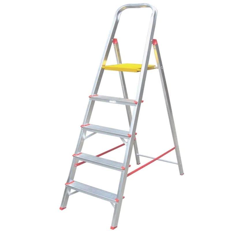 Escada Alumínio 5 degraus Alulev RN205