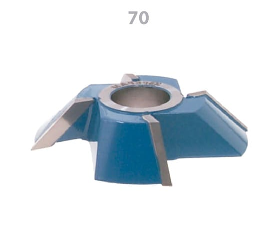 Fresa Meia Esquadria 45º Vídea 115 x 25mm Esquerda Fepam