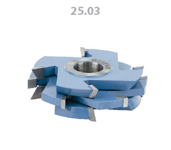 Fresa para Lambris Jogo com Vistas nos 2 Lados 125 x 18-30mm Furo 30mm FEPAM