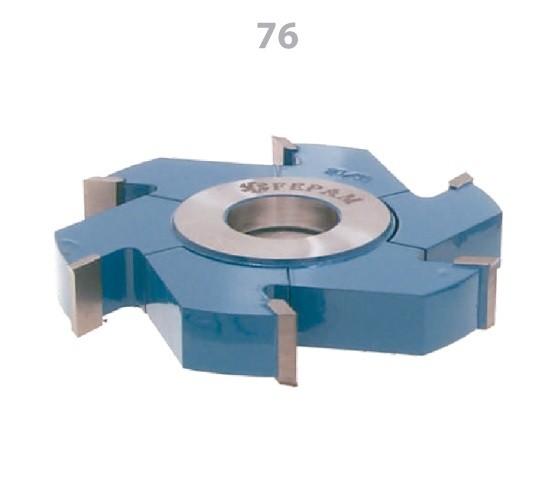 Fresa Regulável para Ranhuras 125 x 10 a 19mm 3+3D FEPAM