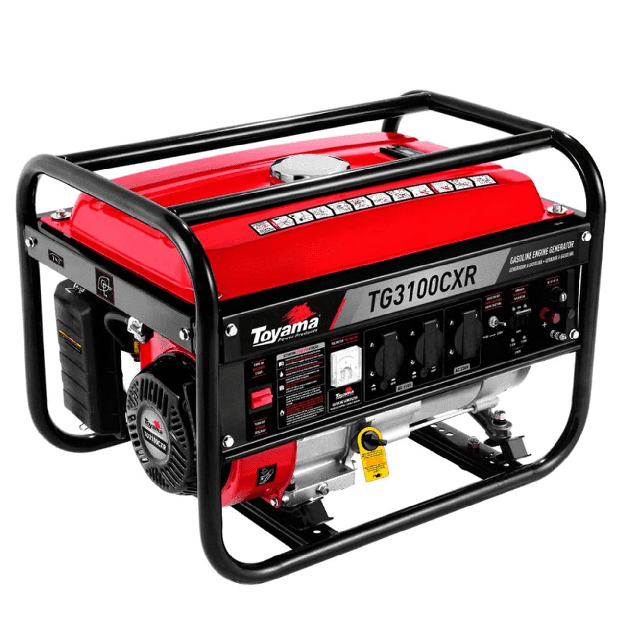 Gerador de Energia Gasolina TG3100CXR 110/220V