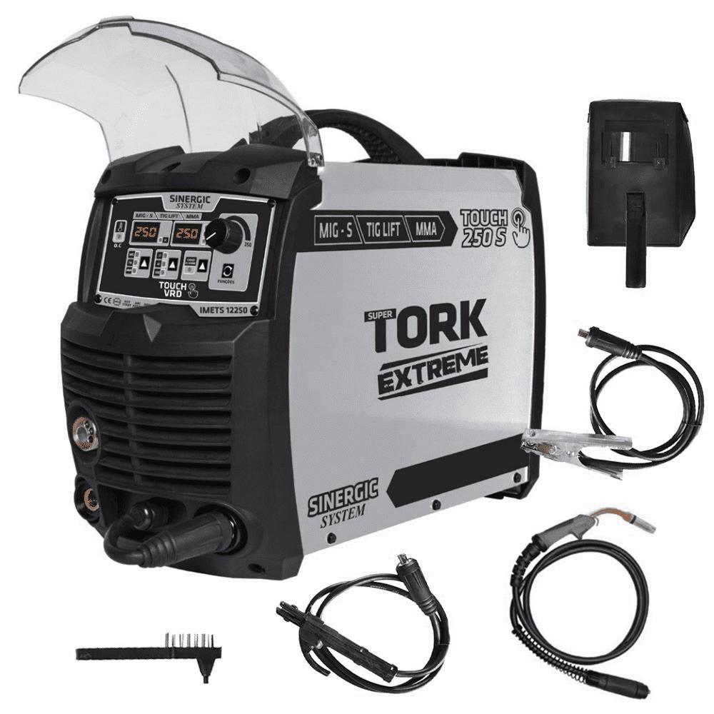Inversor de Solda 250A Super Tork IMETS-12250 (MIG/MMA/TIG) -220V