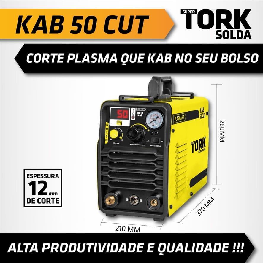 Inversora Corte Plasma Supertork KAB 50CUT PL-8050 6900w 220V TORK