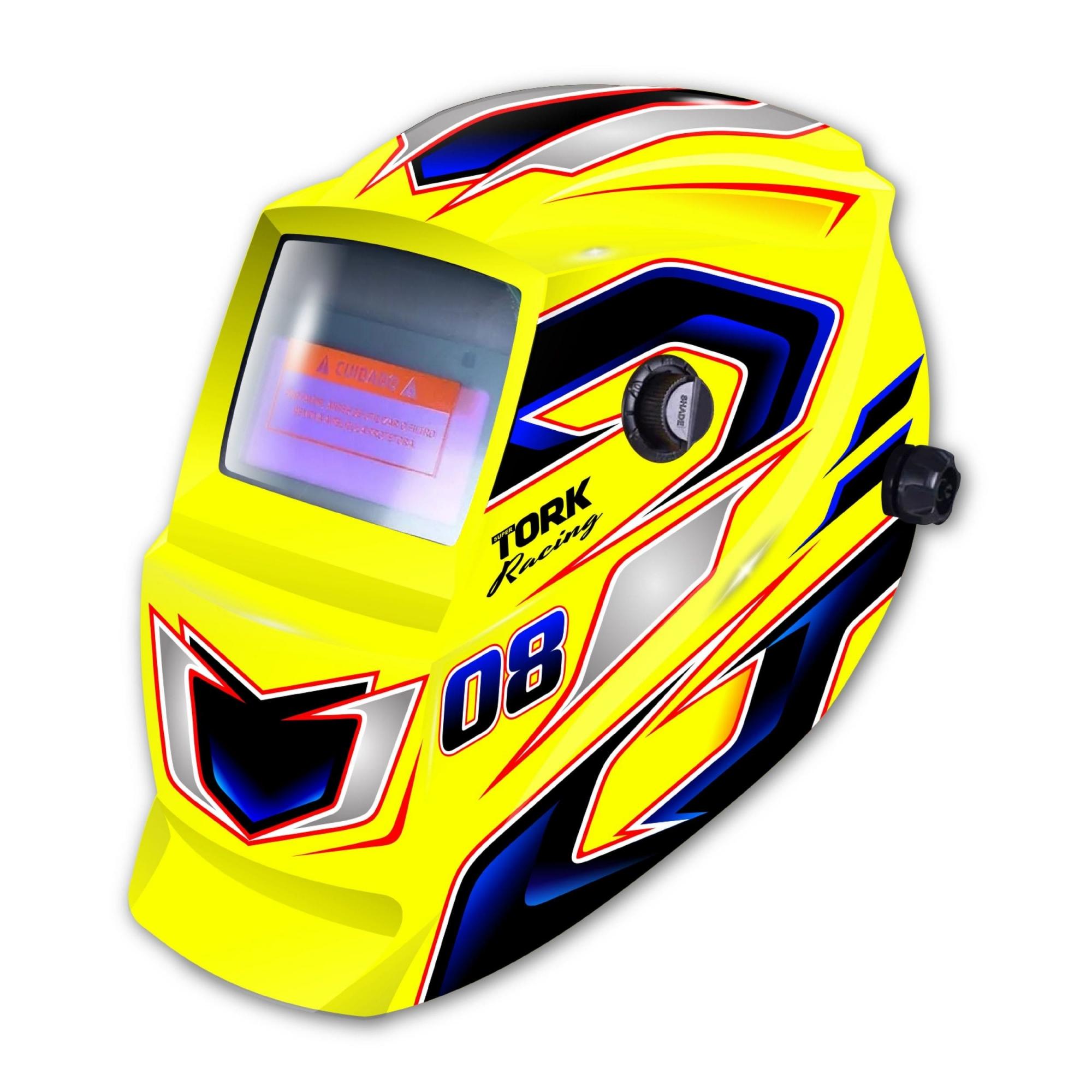 Máscara de Solda Automática Amarela MTR-9008 TORK