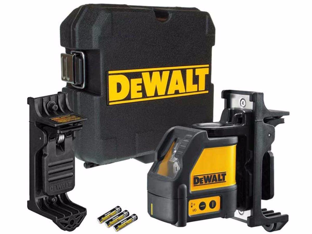 Nível a Laser Vermelho com Suporte e Maleta DW088K DEWALT