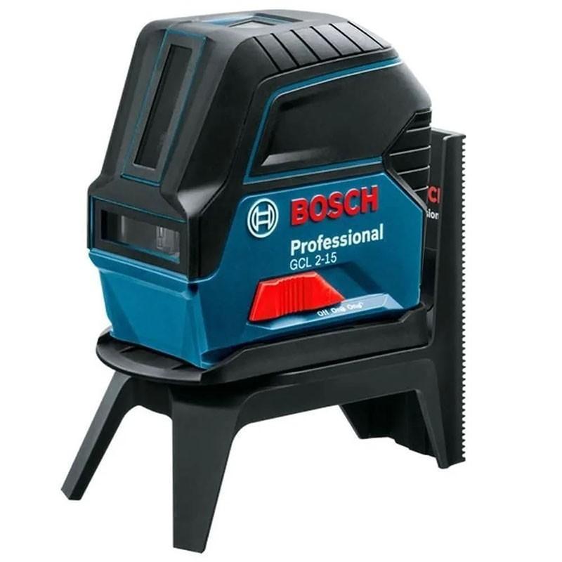 Nivel Laser 2 Linhas e Ponto Vermelho Bosch GCL 2-15
