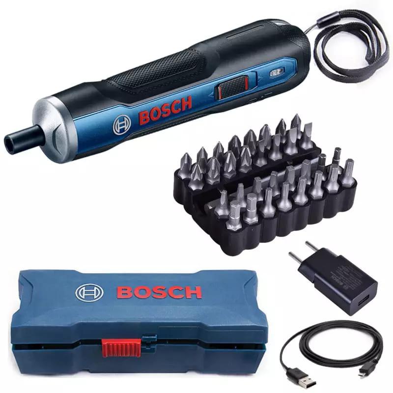 Parafusadeira Bosch 3,6V 1/4 GO Versão KIT 110/220v
