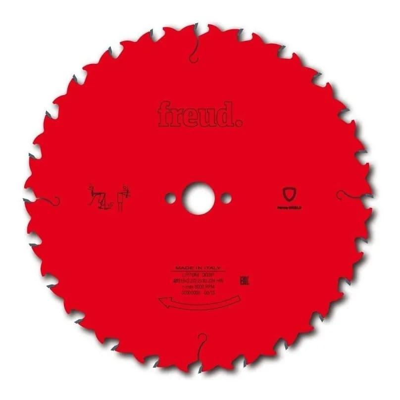 Disco de Serra de Videa 400 x 28 Avanço Controlado ( 3,8/2,8, Furo 30mm) LP70M 008P Freud