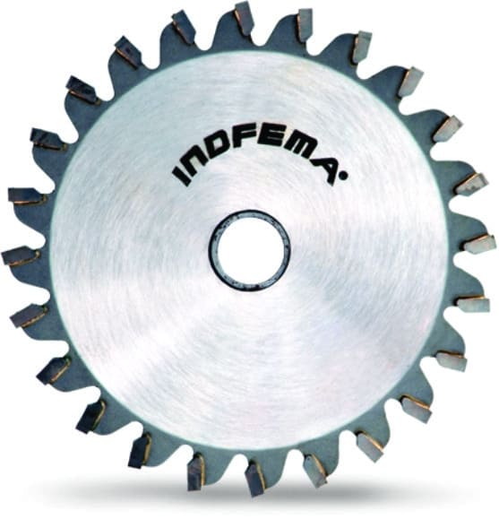 Riscador Para Esquadrejadeira Indfema 120 x 24 (2,5-3,1/4,2 Furo 22mm)
