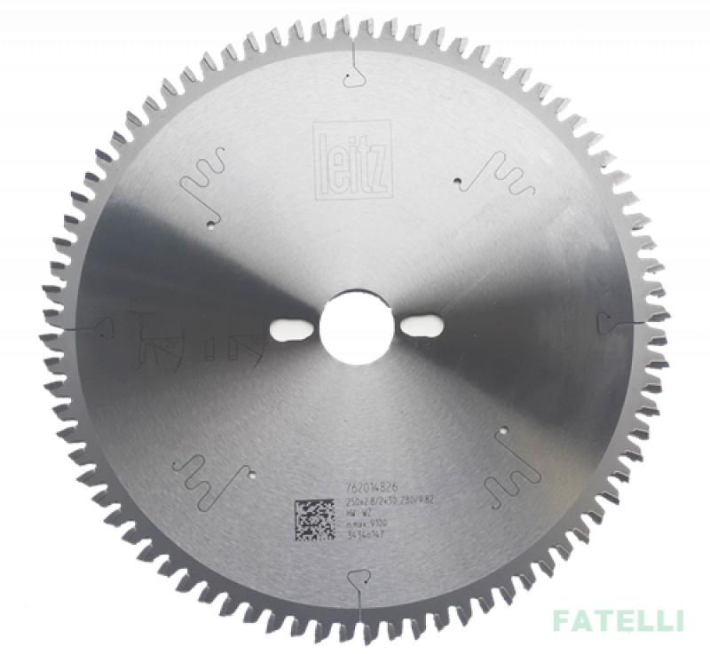 Disco de Serra de Videa 250 x 80 38º Para MDF/Eucalipto SL4826 Leitz