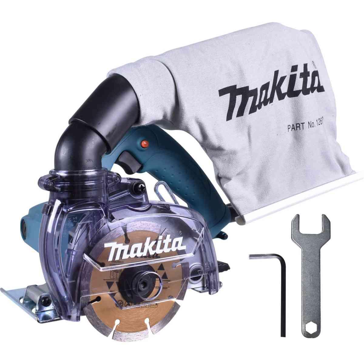 Serra Marmore Makita 4100KB 220v Com Coletor de Pó