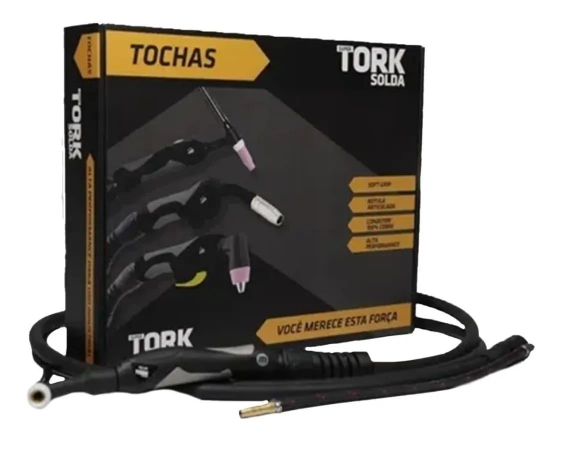 Tocha Tig Seca Flexível 9mm 3 Metros TIG09V-F-9-3M TORK
